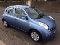 2007 nissan micra 1.2 hatchback.full service records.petrol.manual.power steering