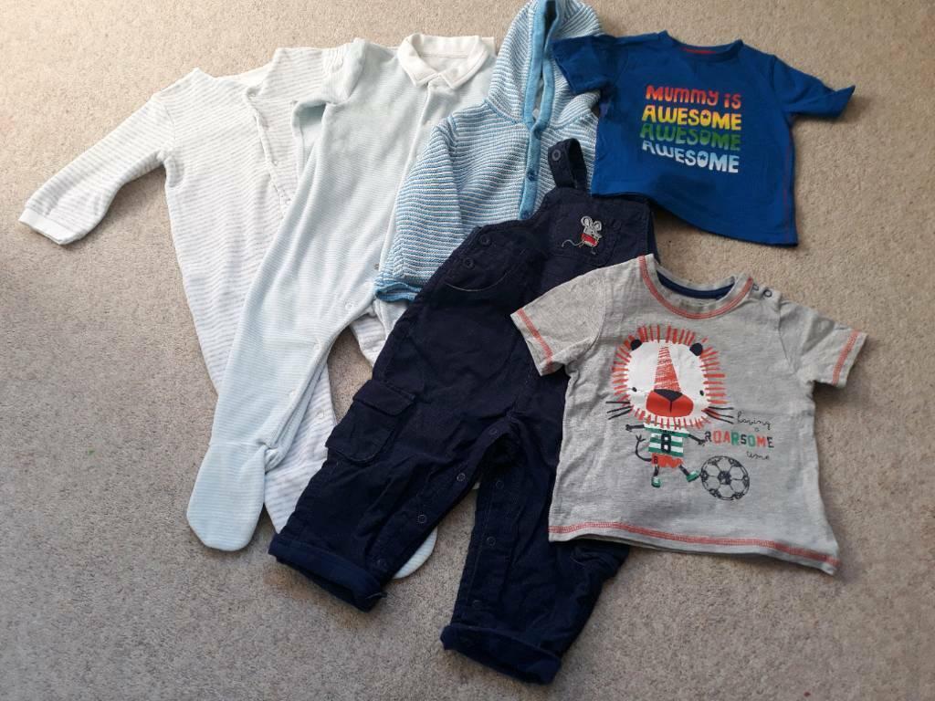 465169efd Baby Boys Clothes Bundle. Age 9 - 12 Months