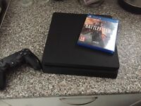 PlayStation 4 with 1 game