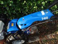 BCS 740 2 Wheel tractor + rotovator and scythe ! exelence condition ! Warranty !