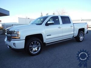 6.2L - 2016 Chevy High Country- Pearl White -Trifold Side Steps