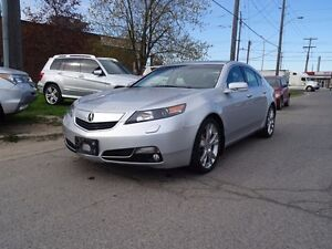 2012 Acura TL Elite PKG.AWD.Navi.Dealer Maintained.Accident Free