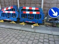 8 Safety Barriers / Works Barriers for Street works
