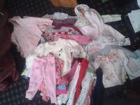 baby girl cloth bundle 0-18