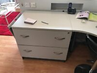Table-sized filing cabinet