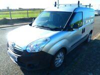 Vauxhall, COMBO, 2000, L2H1, CDTI SS Eco Flex, Crew Cab, Panel Van, 2013, Manual, 1248 (cc)