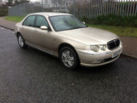 Rover 75 2.0 V6 Club SE, MOT DECEMBER 2017, Good cheap run around, Good overall condition