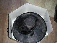 BLACK DEBENHAMS BOXED HAT