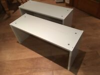 2 Ikea Billy Bookcase Extension Units