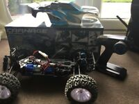Rc model car ready to go or for swaps £80
