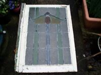 Vintage Stained Glass Window Panes