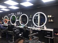 Barber wanted busy town salon. Good rate of pay