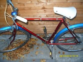 A New Hudson (1977 original) gents bicycle