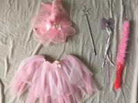 Dressing Up Fairy outfit and assorted wands prices in description