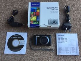 "OLYMPUS VR-340 Digital Camera, 16 MP , 10x zoom, 3"" wide LCD screen"