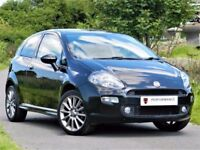 ★ONLY 18K MILES★ FIAT PUNTO 1.4 T-JET BLACK 2 - SPORT SEATS -ALLOYS - FSH - 6 MONTHS WARRANTY
