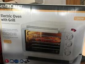Electric oven with grill (countertop)