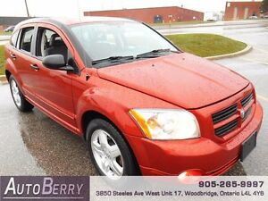 2007 Dodge Caliber SXT ** Certified & E-Test One Owner ** $4,999