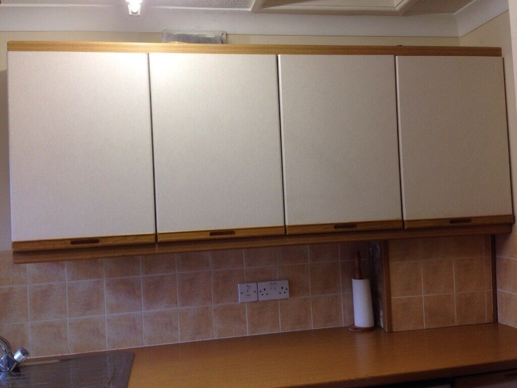 Kitchen Units, Sink & Drainer, taps plus tower unit in Good Condition