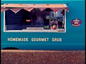 A well equipped Gourmet Mobile Catering Van. Excellent as a start to a street food business.