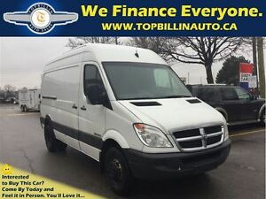2008 Dodge Sprinter 3500 High Roof, Dually, + Shelving