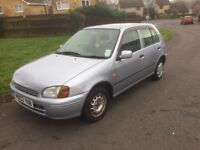 Tyotta starlet 1.3 automatic very good