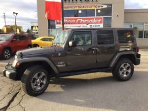 2017 Jeep WRANGLER UNLIMITED SAHARA 4X4|NAVIGATION|REMOTE START