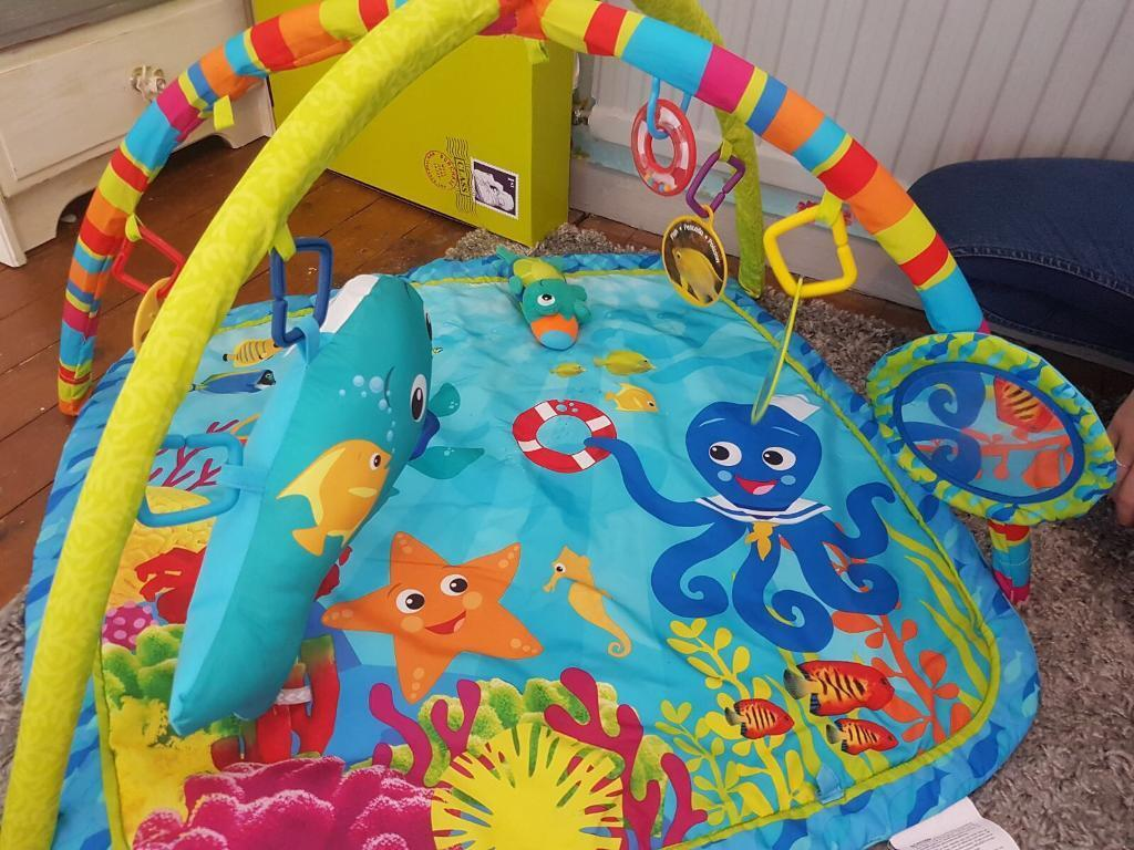 Mothercare sensory play mat