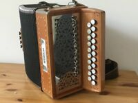 Hohner Morganne D/G melodeon