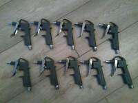 AIR BLOWER GUNS ALUMINIUM DG-10 £5 for 10