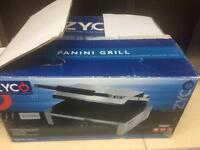 New Zyco Panini Grill Stainless Steel commercial cafe restaurant takeaway
