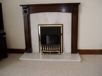 ELECTRIC INSERT FIRE. FUEL and FLAME EFFECT. EXCELLENT CONDITION