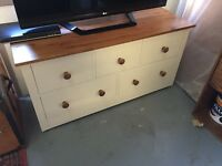 Large screen TV display unit with lots of built in DVD storage etc