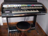 Hammond organ B-200 and Leslie 760