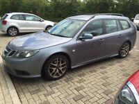 Saab 9-3 Estate For Sale. FSH and MOT