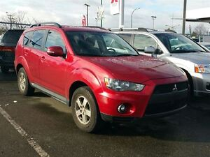 2010 Mitsubishi Outlander LS V6 4WD; Leather seats, Local & Low