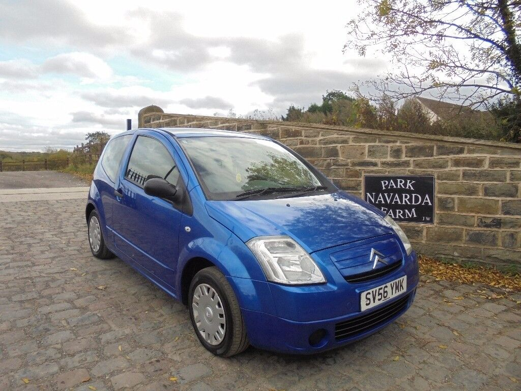 Citroen C2 Design In Blue, 2006 56 reg, Part Service History, MOT October 2018, New Clutch 12/10/17