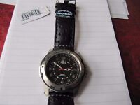 Timex Expedition T49625PF, Mens Black Leather Strap Watch - Brand New 'Still in the Box'