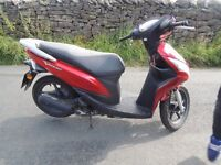 Honda Vision 50cc moped (2012)