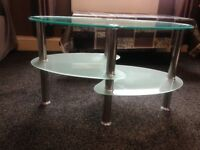 Miller Glass Coffee Table