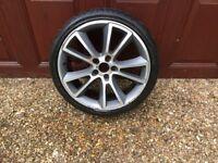 Used alloy wheel & Avon235/35R19 tyre for VXR Vectra ,
