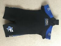 Children's Wetsuit - shortie Size 0, approx. 2/3 yrs