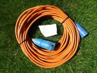 Moorhome /caravan 240 mains hook up cable