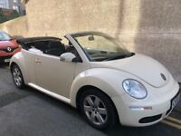 VW Beetle TDI Convertible low mileage & service history