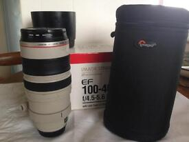 Canon EF100-400mm 4.5-5.6 L IS USM