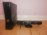xbox 360 with kinect, special edition 250 GB