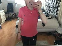 Woman's size L 'The Skinny Fit' Ralph Lauren polo