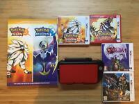 Nintendo 3DS XL Bundle - Circle Pad Pro, Games: Zelda, Pokemon and Monster Hunter