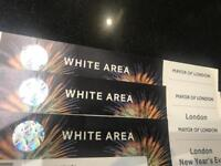 New year eve fireworks tickets.