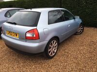 AUDI A3 AUTOMATIC 1.8 PETROL GOOD CONDITION